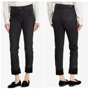 Ralph lauren vtg style velver jean high rise pants